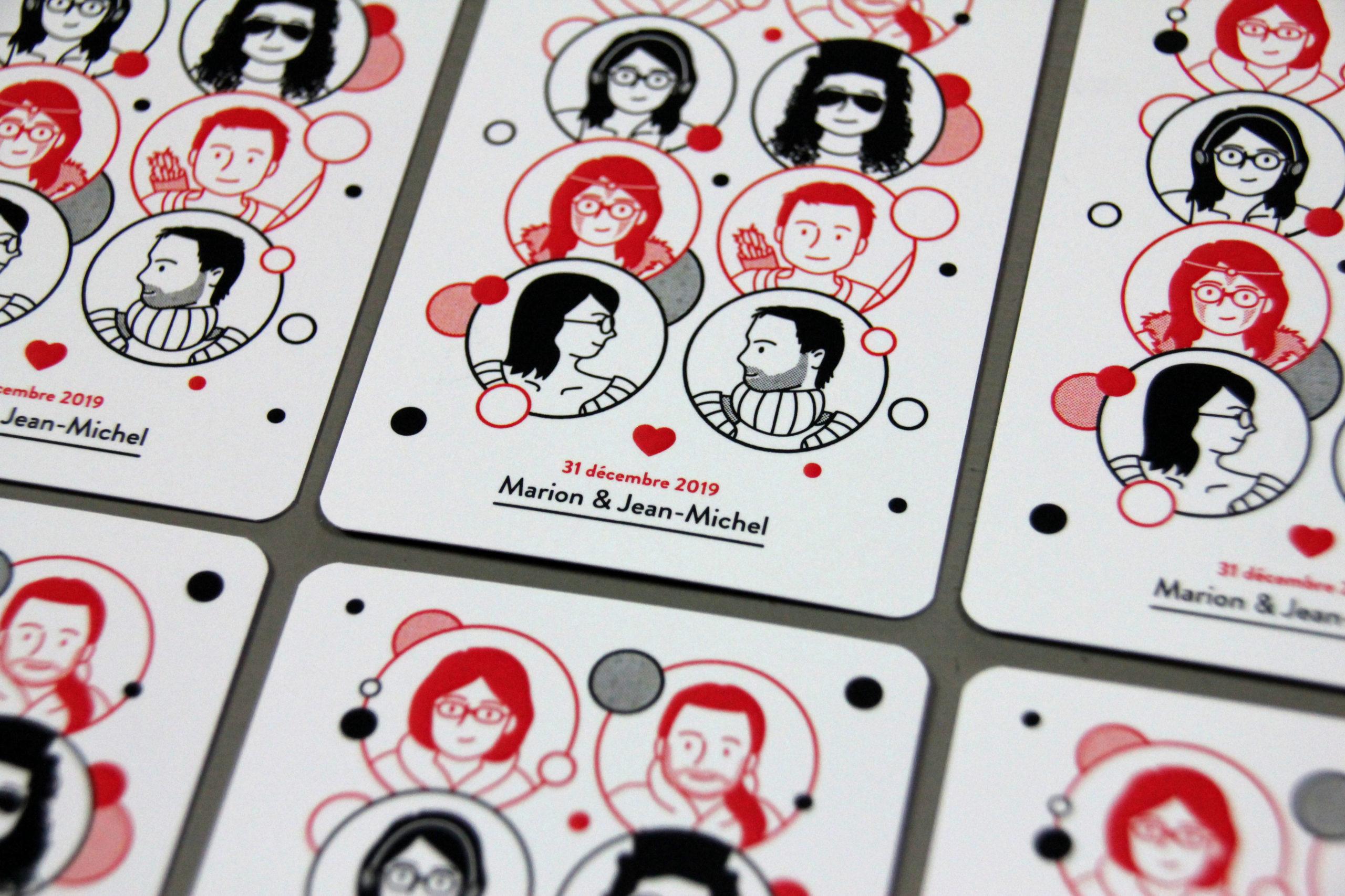 Jeu de cartes à jouer