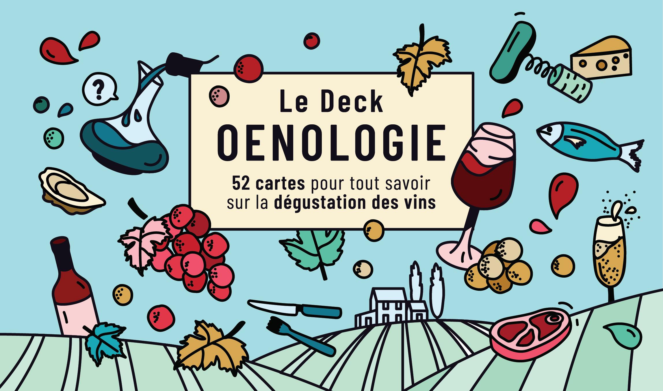 Illustration Deck Oenologie