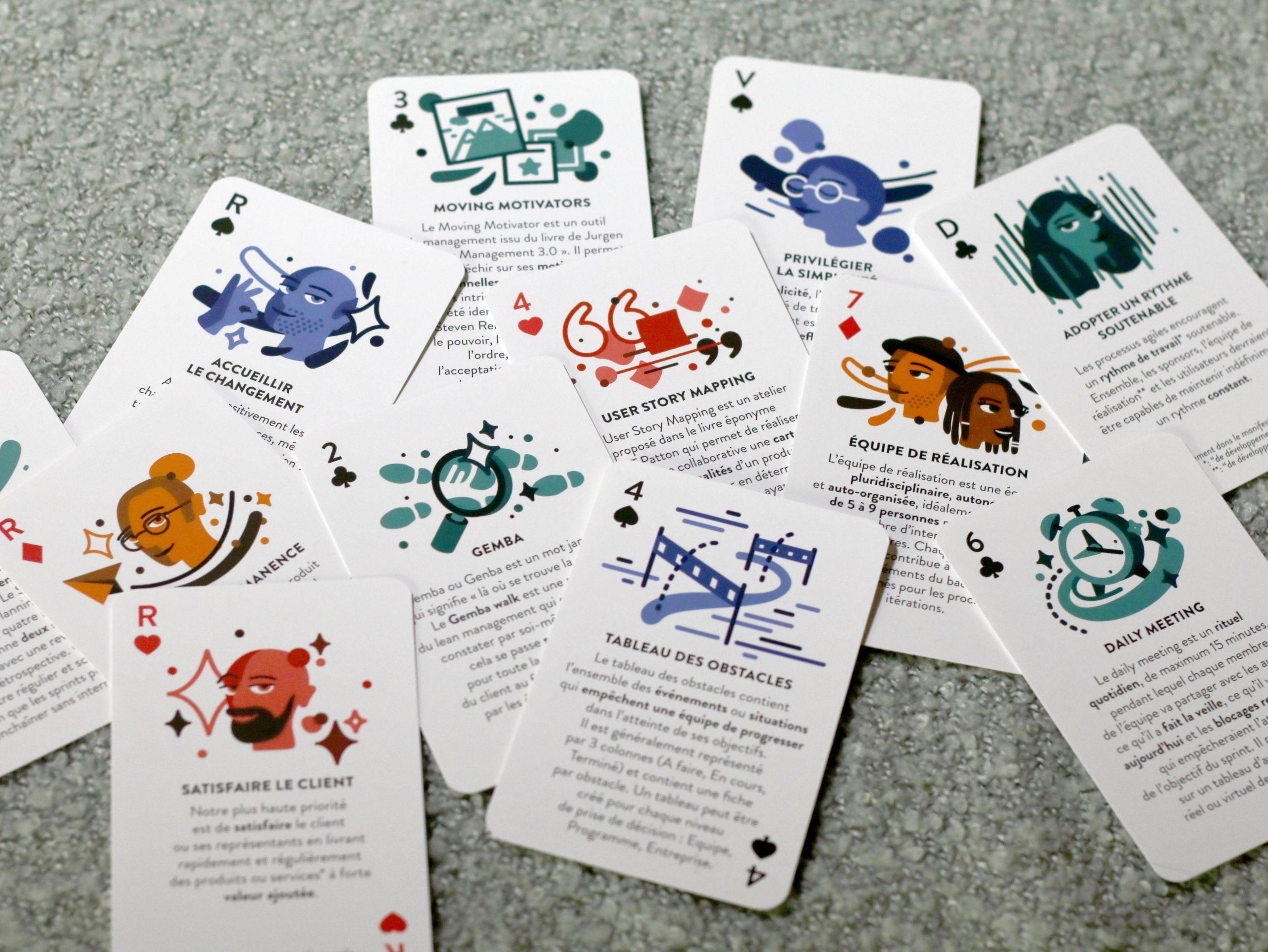 Deck Agile Jeu de cartes