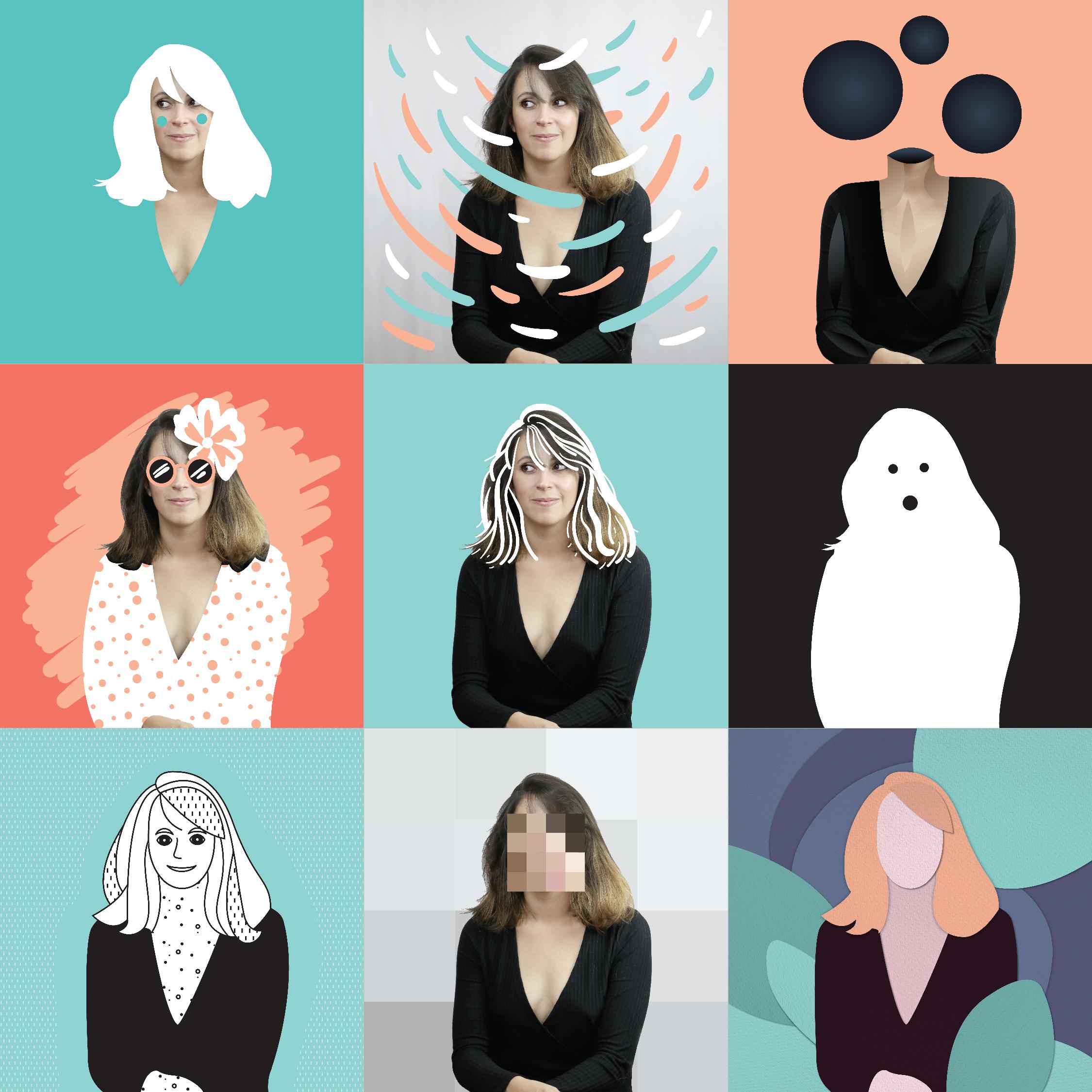 Portraits Claire Lacroix
