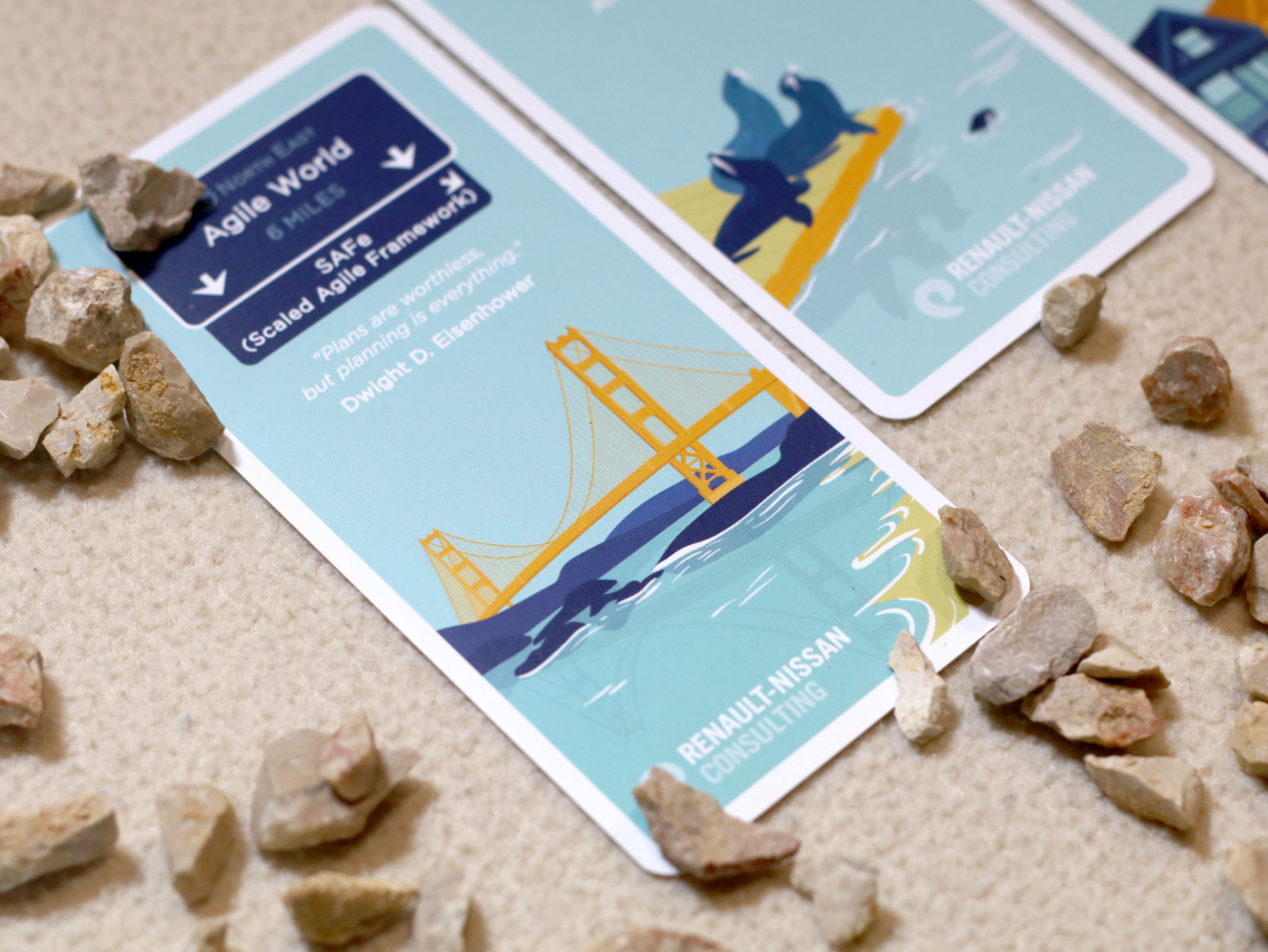 Jeu de cartes Silicon Journey Illustration